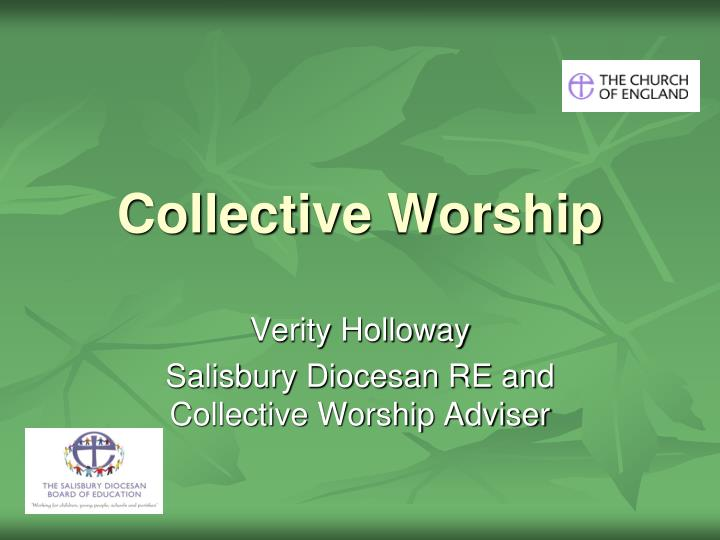 collective worship n.