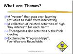 what are themes