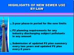 highlights of new sewer use by law1