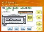 architecture project server 2007