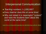 interpersonal communication3