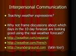 interpersonal communication7
