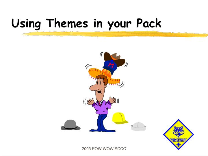 using themes in your pack n.