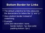 bottom border for links