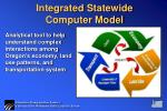 integrated statewide computer model