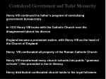 centralized government and tudor monarchy10