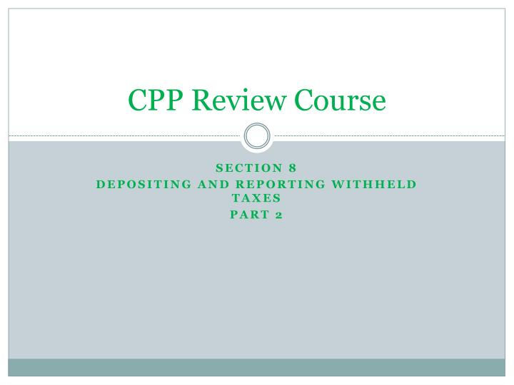 cpp review course n.