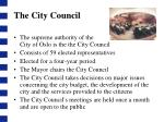the city council