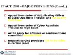 it act 2000 major provisions contd1