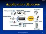 application d port e