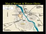 map of warsaw warsaw ghetto