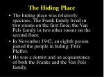 the hiding place1