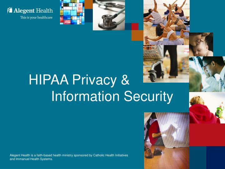 hipaa privacy information security n.