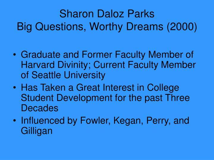 Sharon Daloz Parks