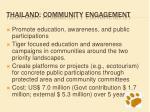 thailand community engagement