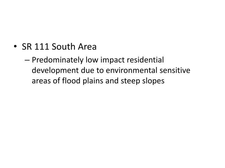 SR 111 South Area
