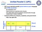 unified parallel c upc