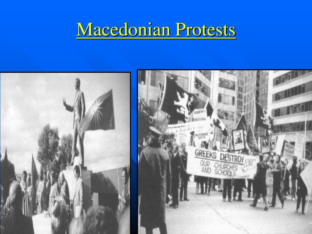 Macedonian Protests