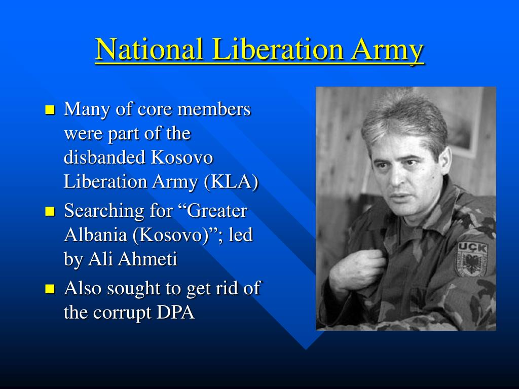 National Liberation Army