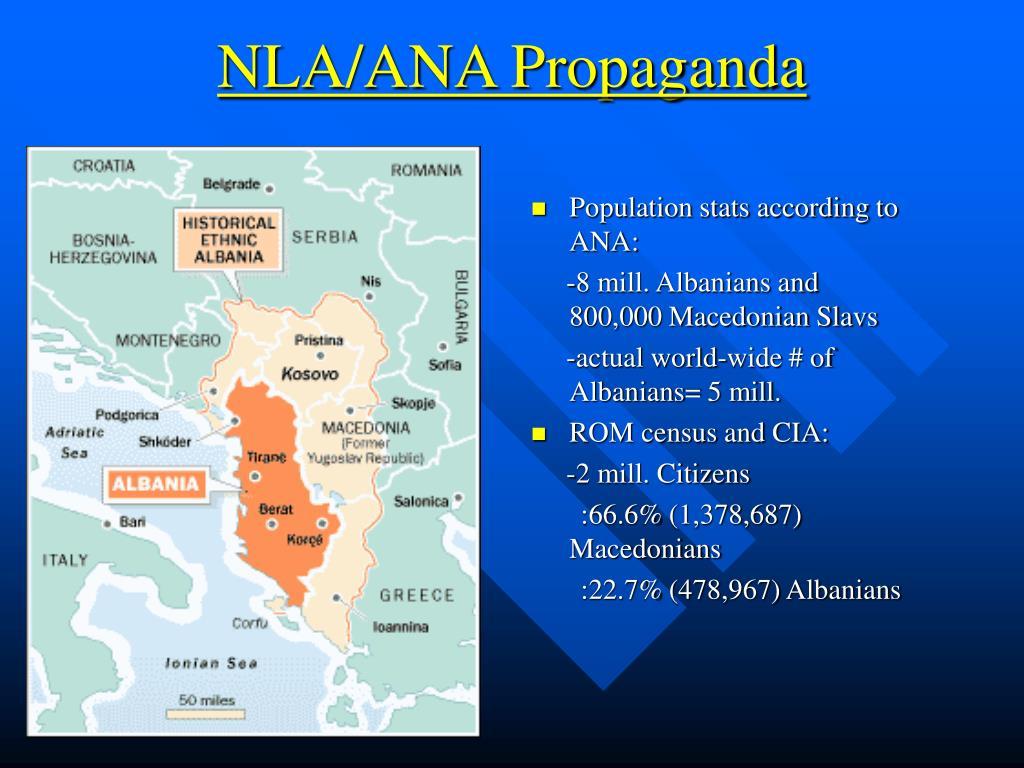 NLA/ANA Propaganda