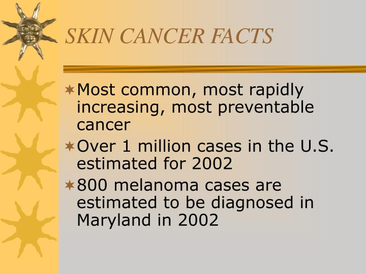skin cancer facts n.