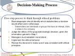 decision making process1