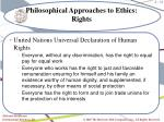 philosophical approaches to ethics rights2
