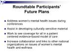roundtable participants future plans1