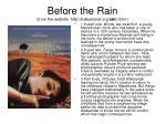 before the rain from the website http balkansnet org rain html13