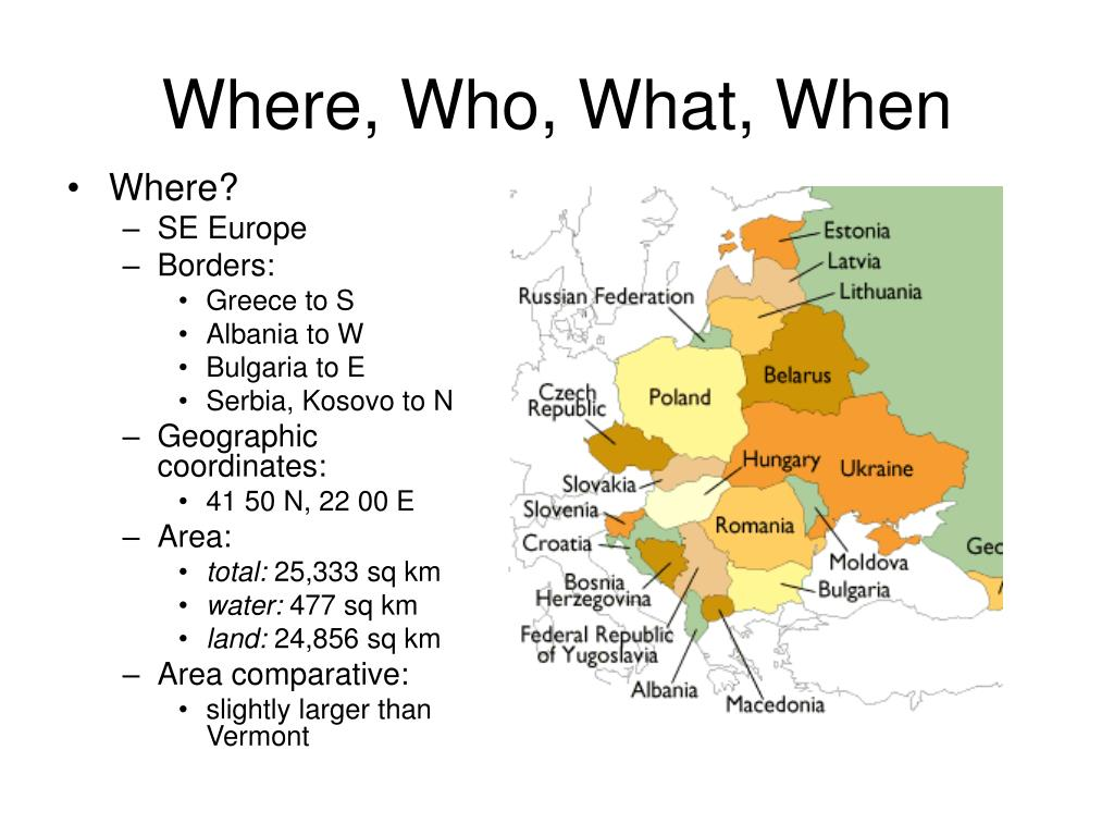 Where, Who, What, When