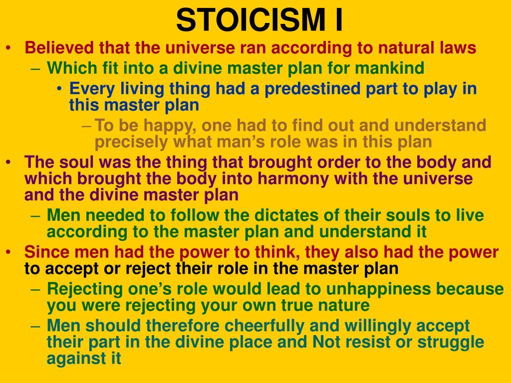STOICISM I