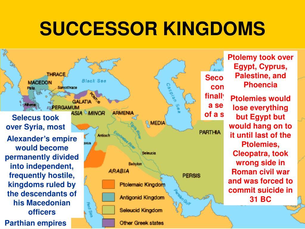 the ptolemaic seleucid and antigonid kingdoms
