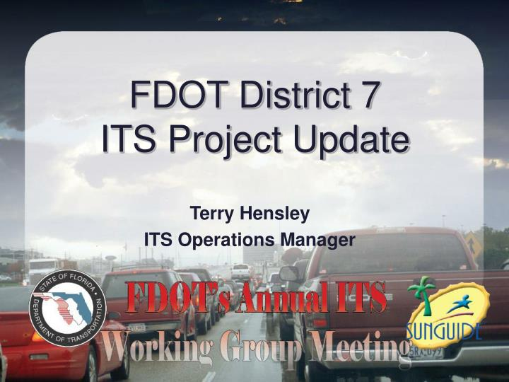 fdot district 7 its project update n.