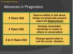 advances in pragmatics
