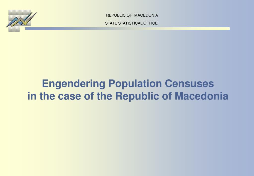 REPUBLIC OF  MACEDONIA