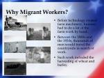 why migrant workers