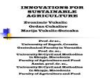 innovations for sustainable agriculture