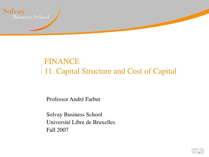 discuss the importance of capital structure and the cost of capital in the efficient financial manag This has led to an increased emphasis on the importance of having a sound operational risk management (orm) practice in place, especially when dealing with internal capital assessment and allocation process this makes orm one of the most complex and fastest growing risk disciplines in financial institutions.