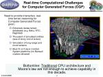 real time computational challenges for computer generated forces cgf