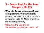 3 jesus zeal for the true temple 18 22
