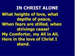 in christ alone1