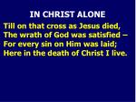 in christ alone3