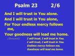 psalm 23 2 6