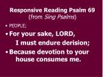 responsive reading psalm 69 from sing psalms1