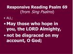 responsive reading psalm 69 from sing psalms7