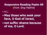 responsive reading psalm 69 from sing psalms8