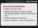font family1