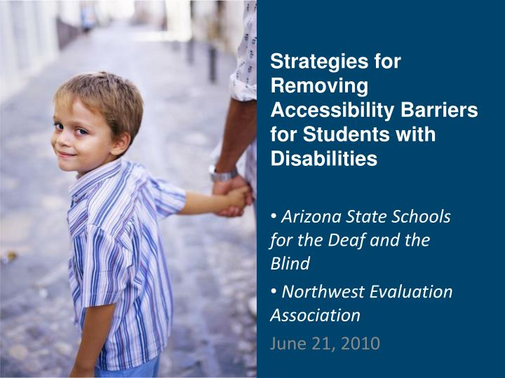 strategies for removing accessibility barriers for students with disabilities n.