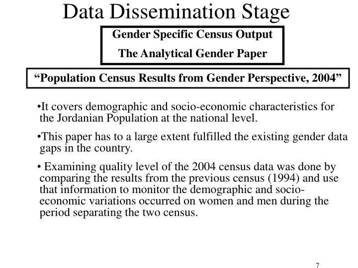 Data Dissemination Stage