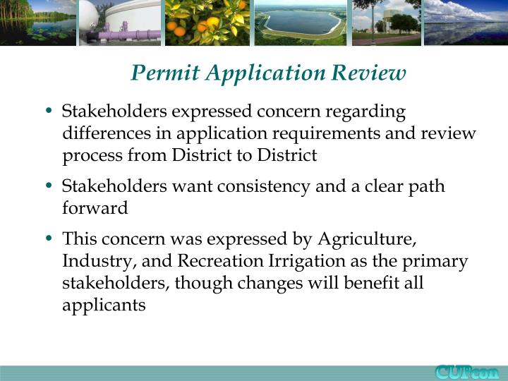 permit application review n.